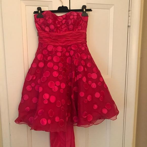 Jovani Dresses Hot Pink Formal Short Dress 0 Poshmark